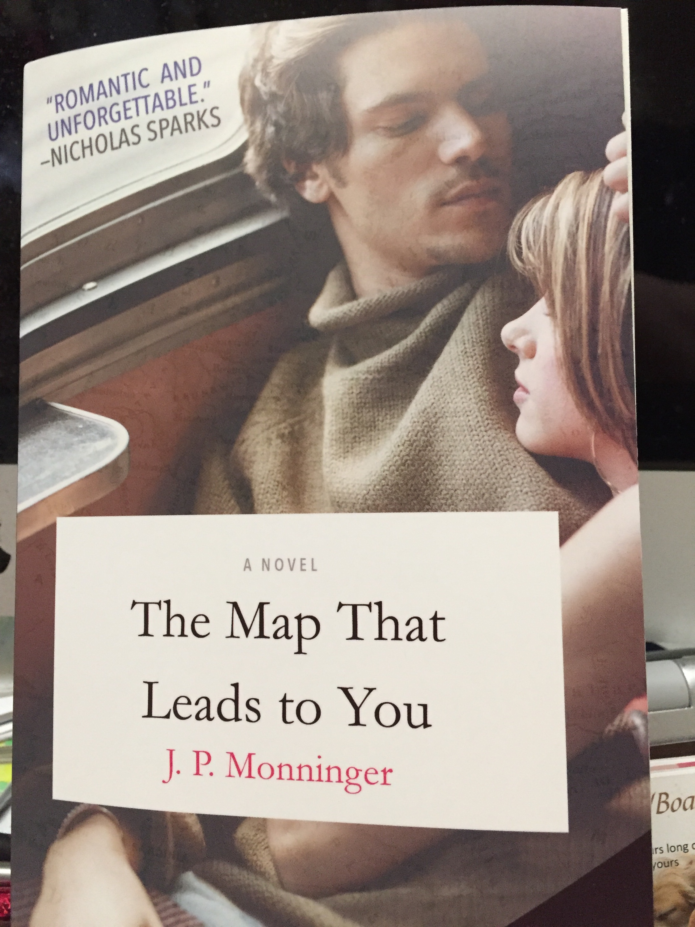 My Review Of The Map That Leads To You By Jp Monninger Lindas