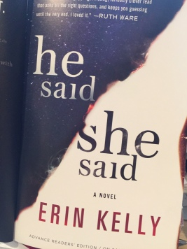 He Said She Said by Erin Kelly