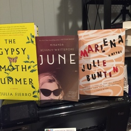 The Gypsy Moth Summer by Julia Fierro, June by Miranda Beverly-Whitemore, Marlena by Julie Buntin