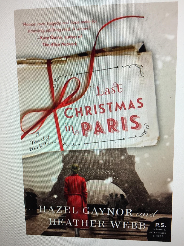 Last Christmas In Paris Book.My Review Of Last Christmas In Paris By Hazel Gaynor And