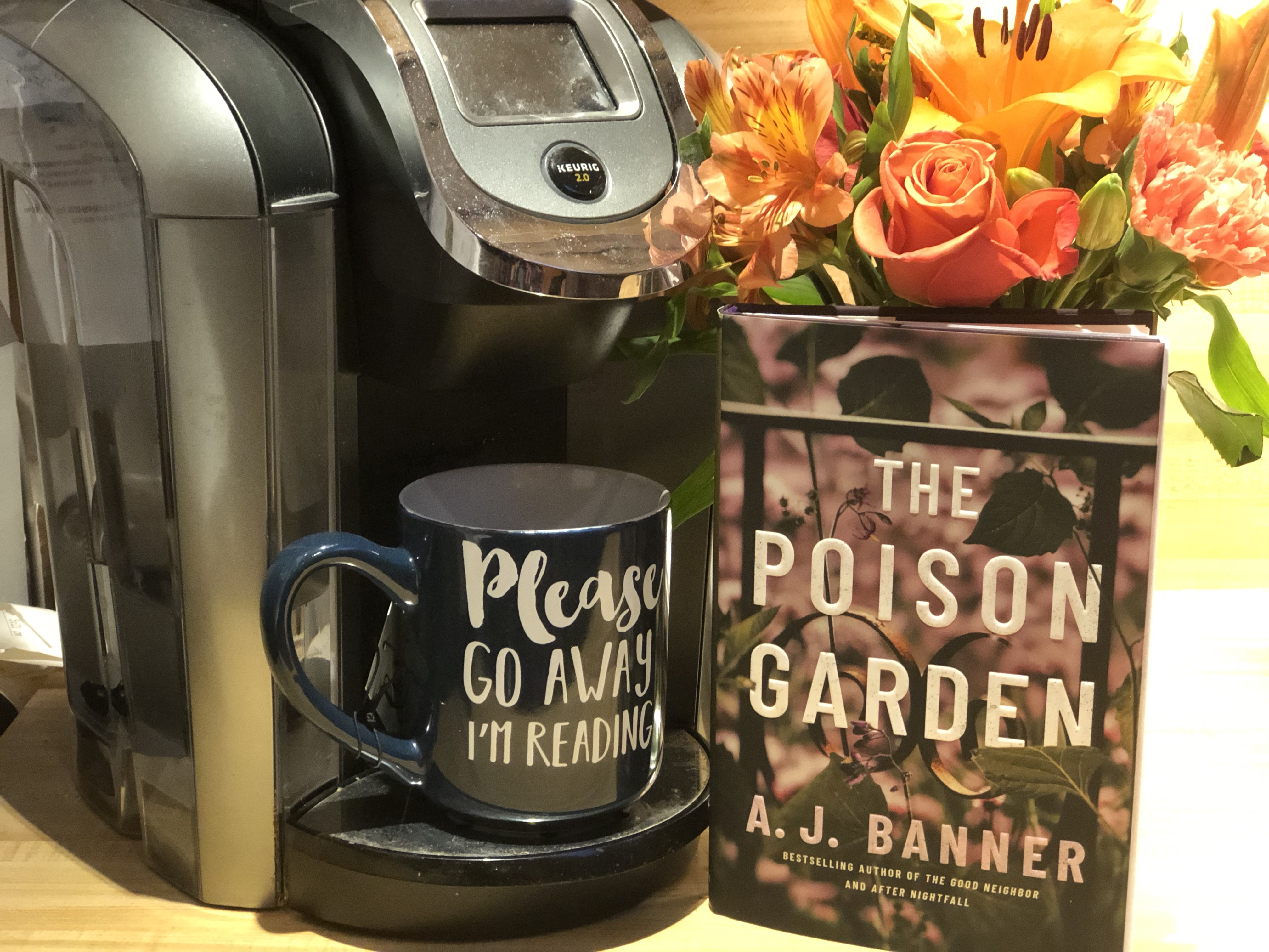 Linda S Book Obsession Reviews The Poison Garden By A J Banner Lake Union Oct 2019 Linda S Book Obsession